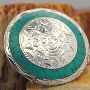 Jewelry - Mexico Sterling brooch